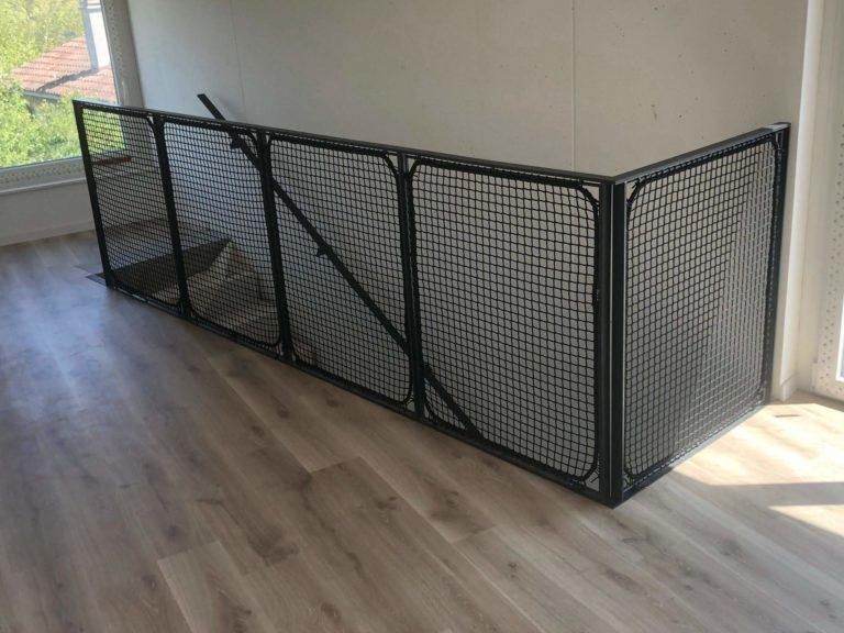 Filet garde corps escalier