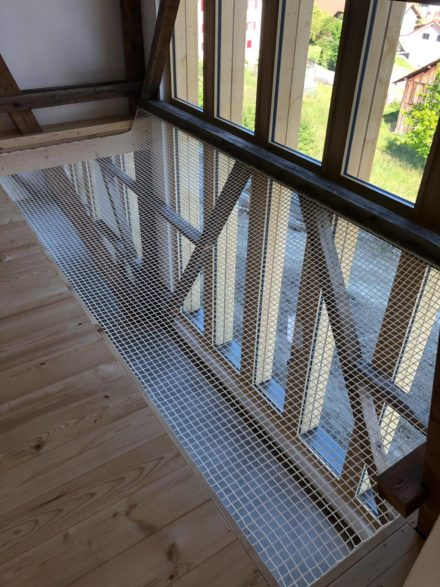 Filet mezzanine protection