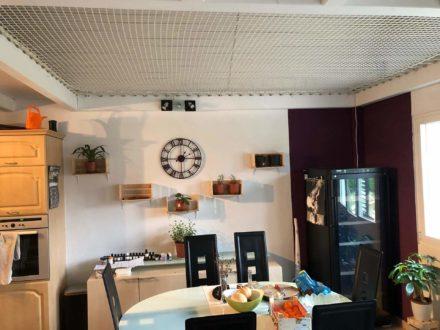 Filet mezzanine protection chalet Suisse