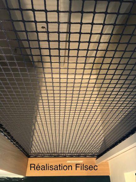 Filet protection mezzanine couleur