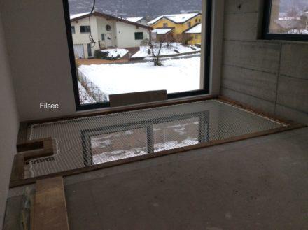 filet de protection mezzanine